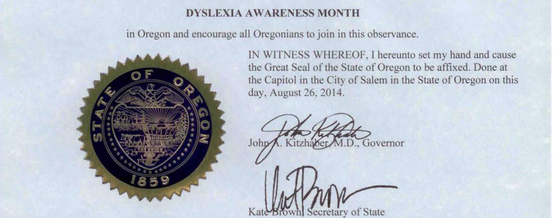 Dyslexia Awareness Campaign Upcoming >> October Is Dyslexia Awareness Month Decoding Dyslexia Oregon