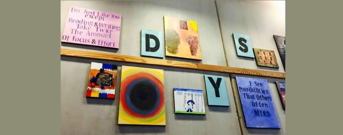 Libraries Display Dyslexia!