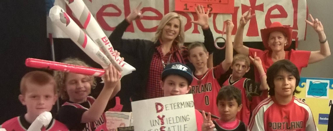 PORTLAND TRAIL BLAZERS and Decoding Dyslexia Event!