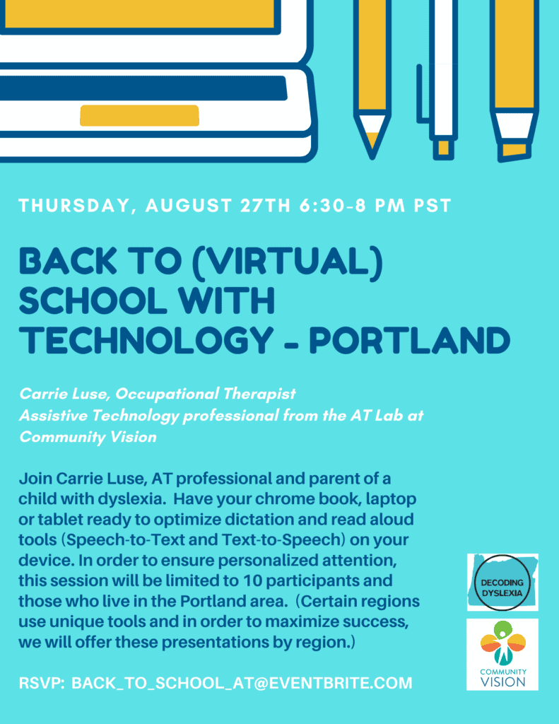 Back to (Virtual) School with Technology - Portland