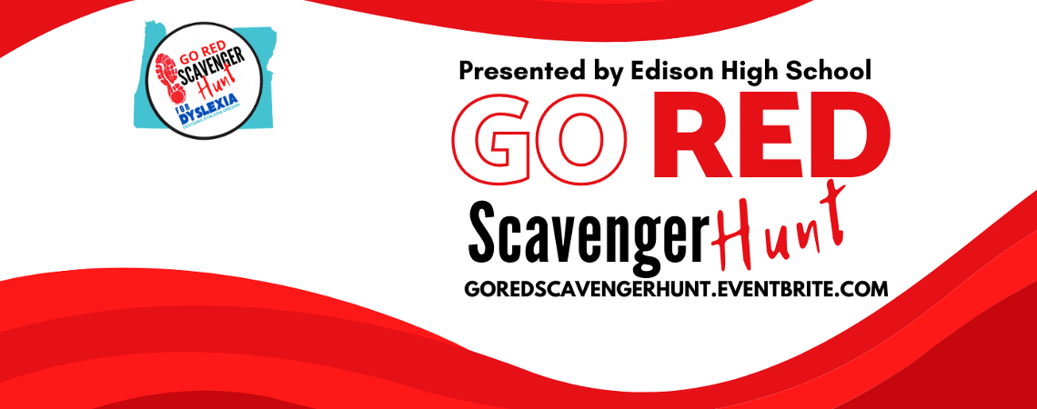 Go Red Scavenger Hunt