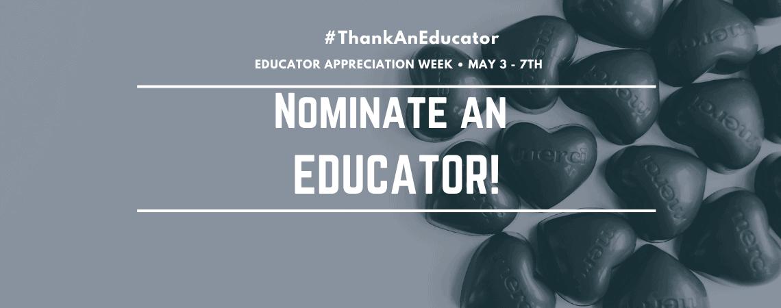 Nominate an Educator!